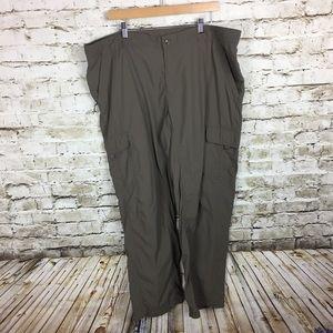 Columbia olive green titanium cargo pants